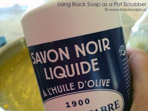 Black Soap for Dishes
